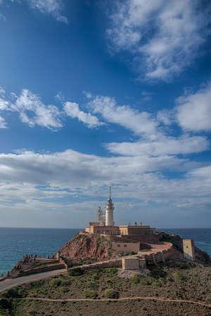 Lighthouse of Cabo de Gata Almeria