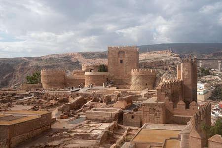 The Monumental Complex of the Alcazaba, Almeria, Andalusia, Spain