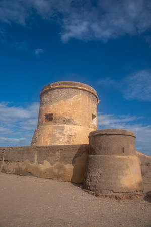 Tower of San Miguel in Cabo de Gata, Almeria