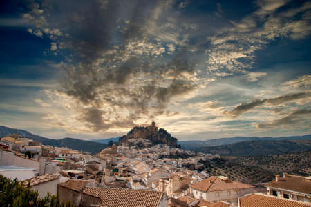 Villages of Andalusia, Montefrío in the province of Granada