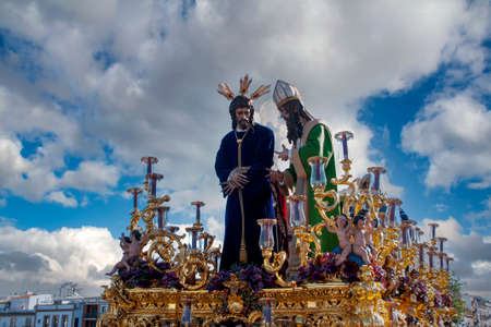 Jesus before Caifas, brotherhood of Saint Gonzalo, Holy Week of Seville