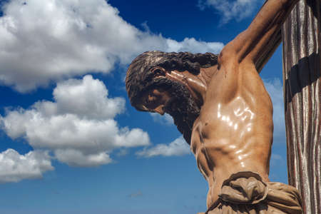 images of the Holy Week in Seville, brotherhood of the students