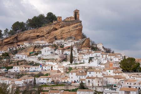 Municipalities of the Province of Granada, Montefrio, Andalusia Standard-Bild