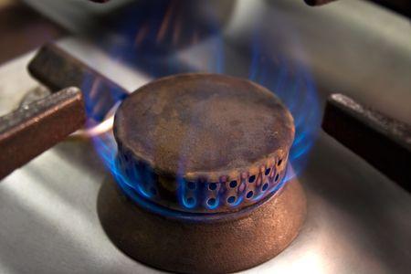 Cooker - Industrial kitchen detail photo