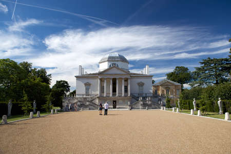Chiswick House is a Palladian villa in Burlington Lane, Chiswick, in the London Borough of Hounslow in England  Editorial