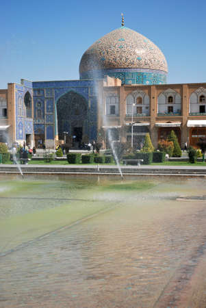 Sheikh Lotf Allah Mosque is an architectural masterpiece of Safavid Iranian architecture