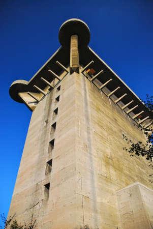 flak: The  L-Tower  at Augarten, Vienna  Editorial