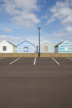 southwold: Beach huts in Southwold, Suffolk