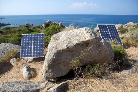 harnessing: Harnessing the sun using solar panels