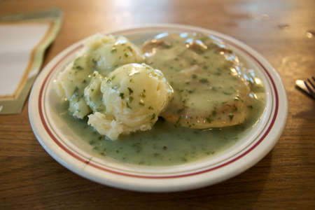 take a history: Traditional pie, mash and liquor can be traced back through the 1800 s and is an important part of London s food history