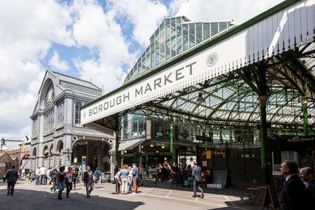 markets: Entrance to Borough Market, near London Bridge