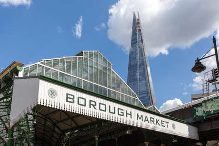 Entrance to Borough Market, near London Bridge