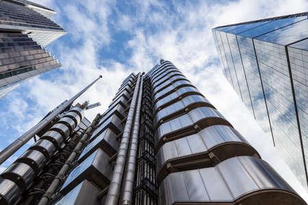 고층 빌딩의 트리오 스톡 콘텐츠