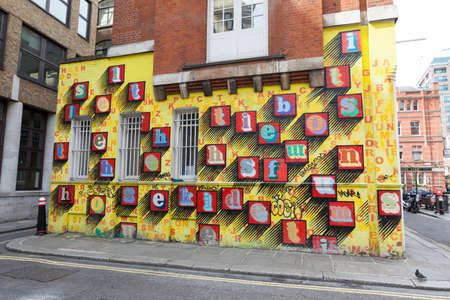 urban decline: Street art in London