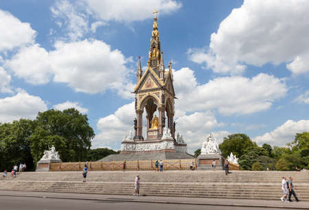 Albert Memorial, London Editorial