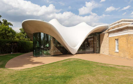 Serpentine Sackler Gallery extension by Zaha Hadid