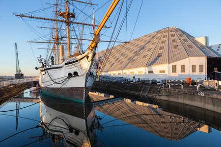 Chatham Historic Dockyard의 HMS Gannet