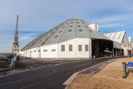 The Big Space is a covered slip at The Historic Dockyard Chatham and when built in 1838 it was Europe