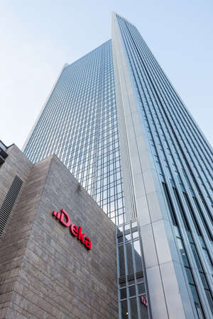 DekaBank Headquarters in Frankfurt Editorial