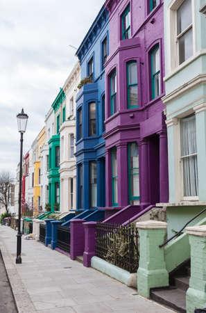 노팅힐, 런던에서 다채로운 주택