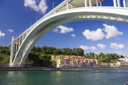 rabelo: Bridge in Porto, Portugal