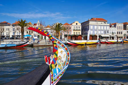 Aveiro gondola in Portugal Stock Photo - 18114000
