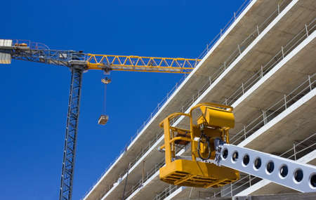 Tower crane at construction Site Stock Photo - 18134567