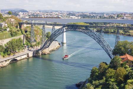 Bridges of Porto City and the Douro River Stock Photo - 18134638