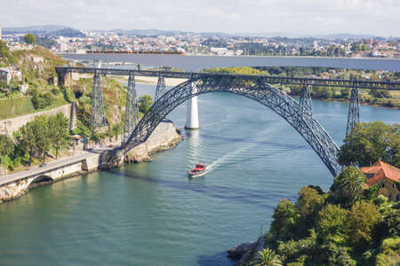 Bridges of Porto City and the Douro River Stock Photo - 18134638