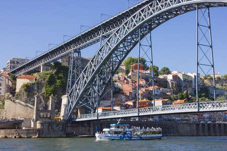 rabelo: Boat in Porto  Stock Photo