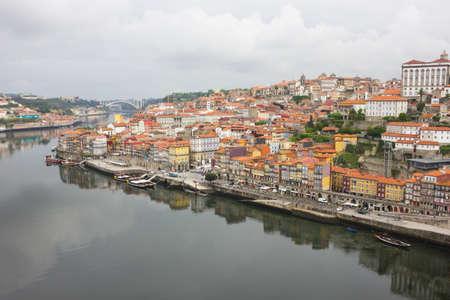 rabelo: The River Douru and historical center of Porto