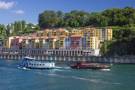 rabelo: Douro river and traditional boats - Porto, Portugal