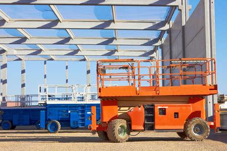 construction platform: Hydraulic mobile construction platform