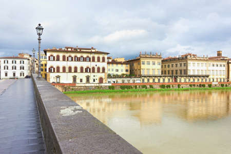arno: The Arno River in Florence, Italy