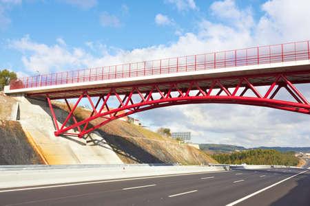 reg: Reg Bridge above the highway