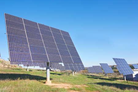 resourceful: Solar cells on a big field