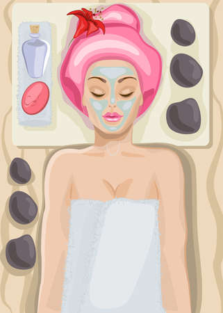 Facial care Stock Vector - 18419737