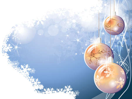 Blue christmas background Stock Vector - 18420219