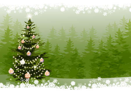 Christmas Tree Stock Vector - 18420281