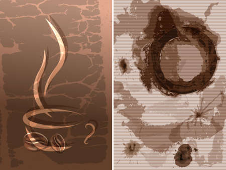 coffee hour: Coffee cup stain