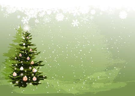 Christmas Tree Stock Vector - 18420209