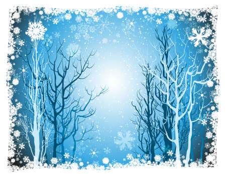 Tree Christmas background Stock Vector - 18455940