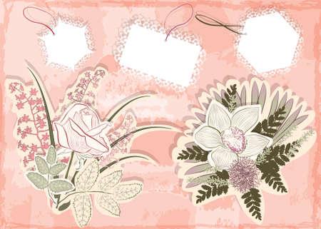 vector floral elements Stock Vector - 18455941