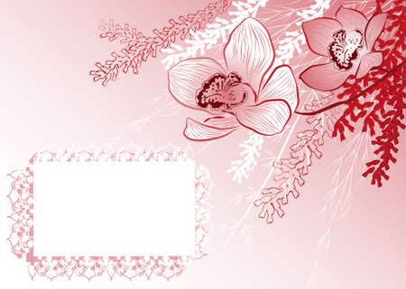 colorful background with flowers Stock Vector - 18455900