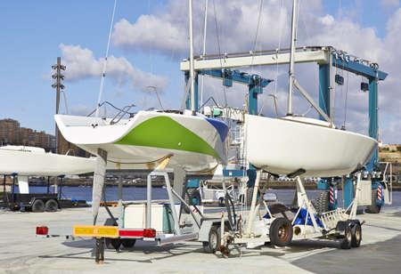 repairs: Boat repairs, a repair yard