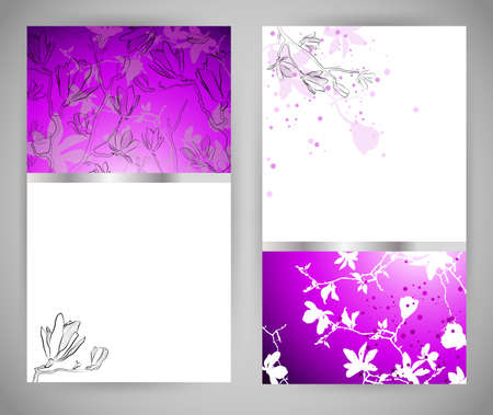dividing line: Set of abstract banners