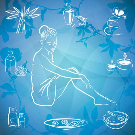 lotus effect:  spa