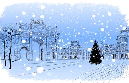 triumphal: Christmas Paris
