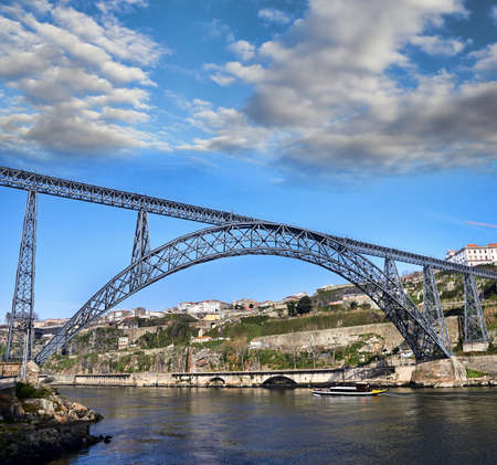 rabelo: Metallic Bridge, Porto, Portugal