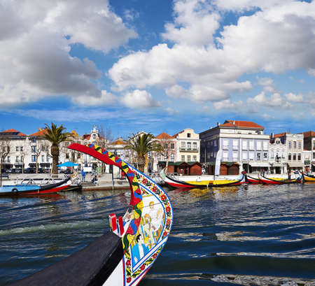 canal of Aveiro, Portugal